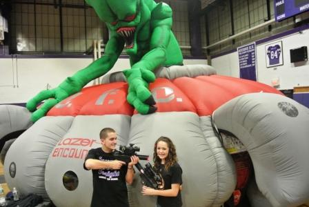 Laser Tag-Inflatable Arena