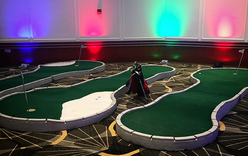 3-Hole Mini Golf