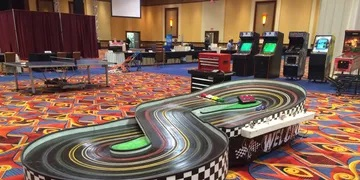 Mobile Slot Car Track