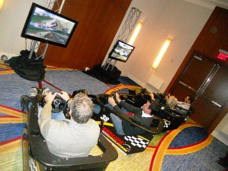 Virtual Reality Race Cars (2 cars)