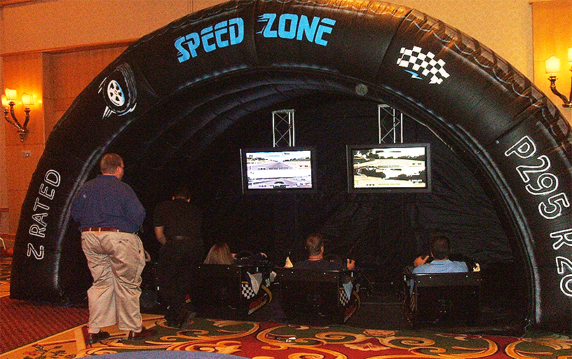 Virtual Reality Speed Dome