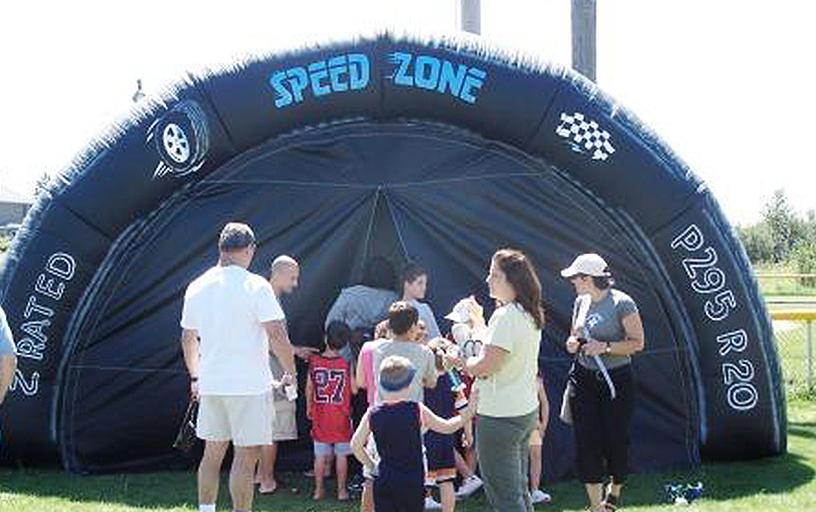 Virtual Reality Speed Dome