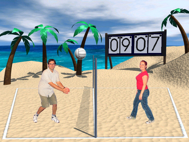 Virtual Reality Volleyball