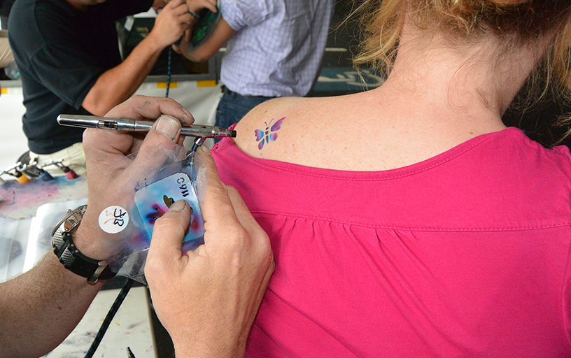 Airbrush Tattoos /hr
