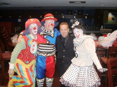 Clown /hr.