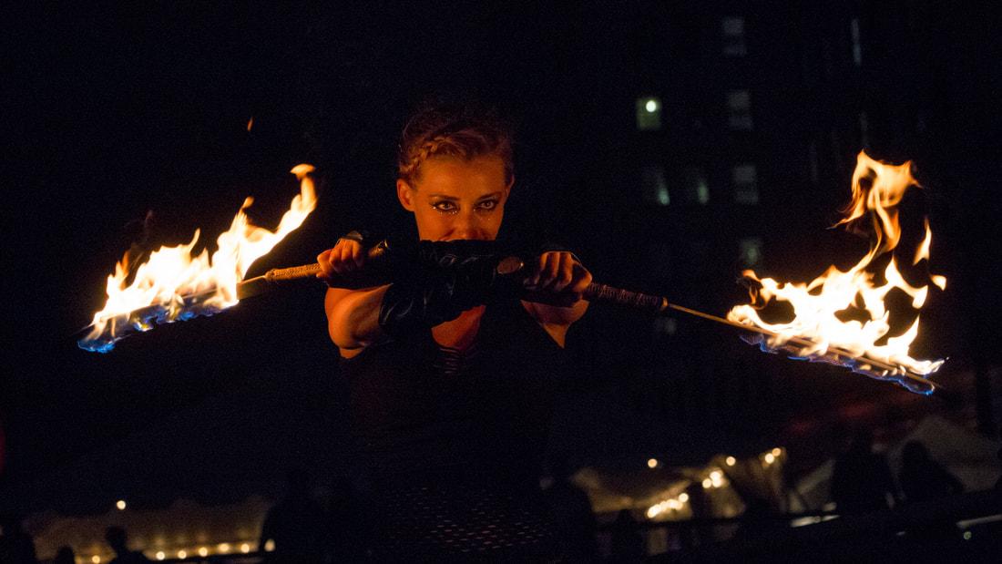 Fire Performer/hr
