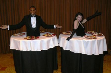 Human Dessert Tables