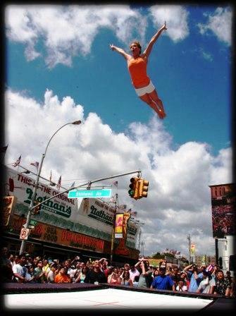 Trampoline Stunt Team