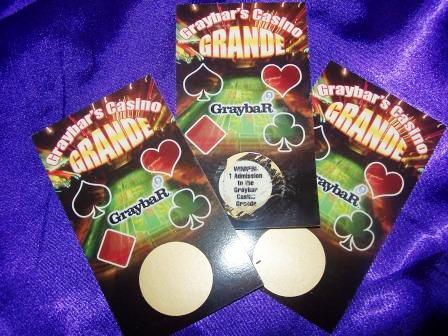 Scratch Ticket Invitations