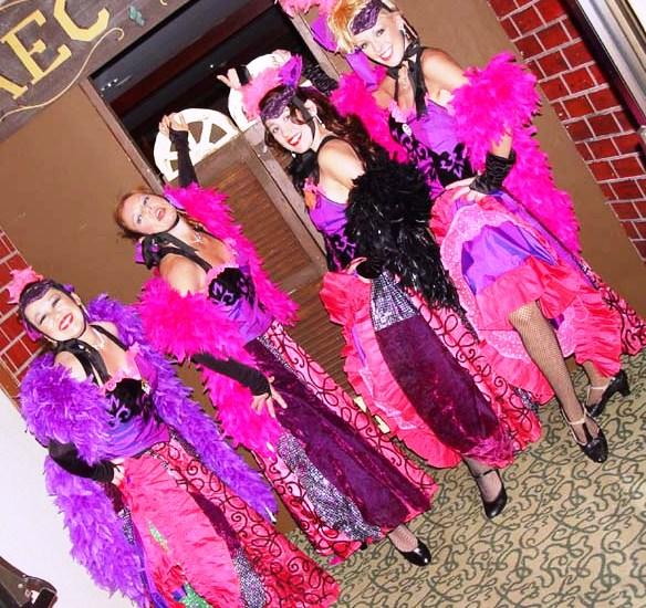 Strolling Vegas Showgirls/hr.