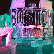 Performance Ice Sculpting Show