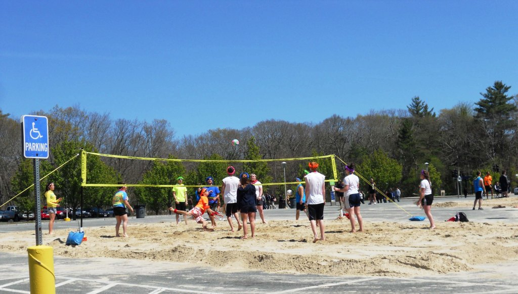 Beach Volleyball w/ Sand