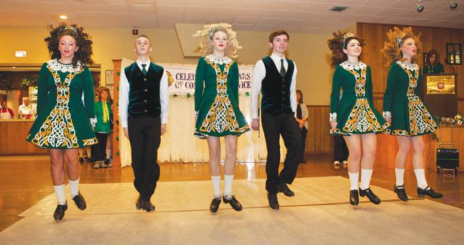 Irish Step Dancers