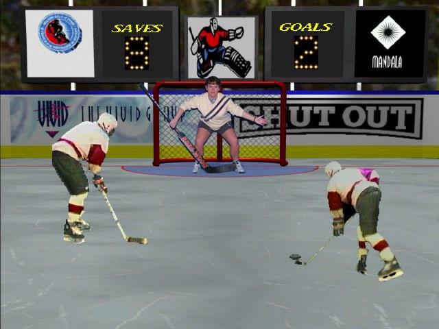 Virtual Reality Hockey