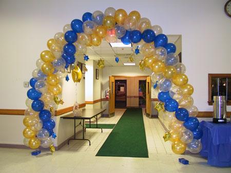 Swirl Balloon Archway