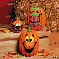Pumpkin Decorating Kits (50 Pieces)