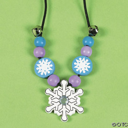Make Your Own Winter Necklace (1000)