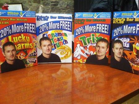 Photo Cereal Boxes