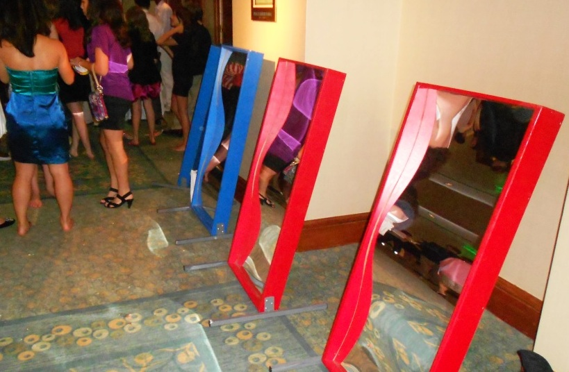 Fun House Mirrors (per mirror)
