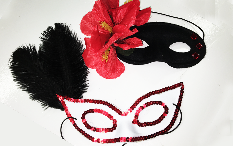 Make Your Own Masquerade Mask (200 pieces)
