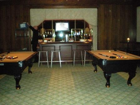 Cigar Room Pool Table