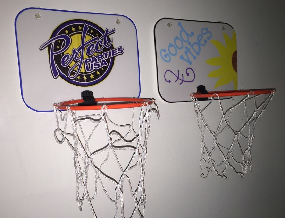 Decorate your own Mini Basketball Hoop