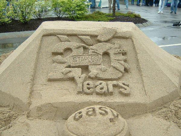 Custom Sand Sculpture