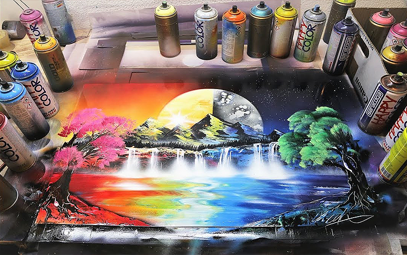 Spray Paint Artist