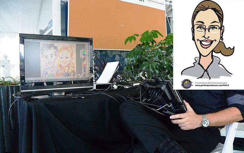 Digital Caricatures (per. hr.)