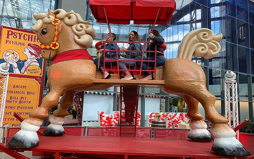 World's Largest Rocking Horse