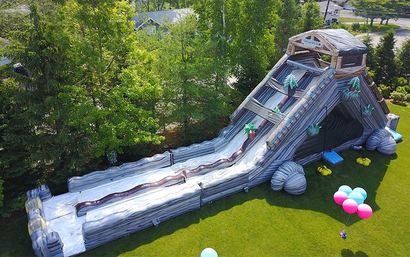 Log Jammer Extreme Water Slide