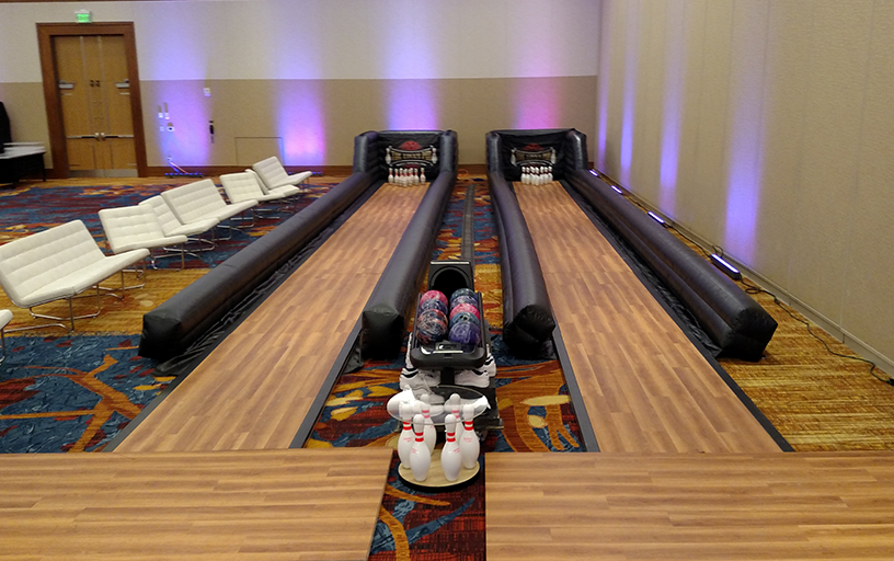 The Lucky Pin Mobile Bowling Lanes