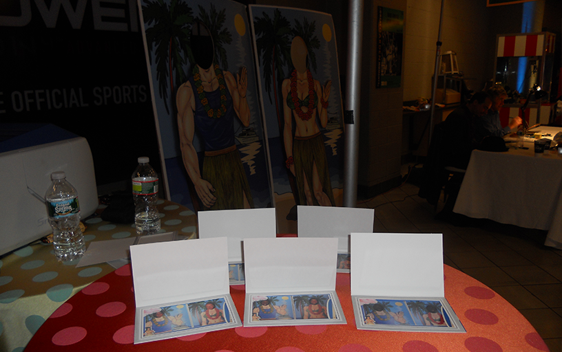 Custom Stand In Photo Cut Outs (2) Onsite Printing