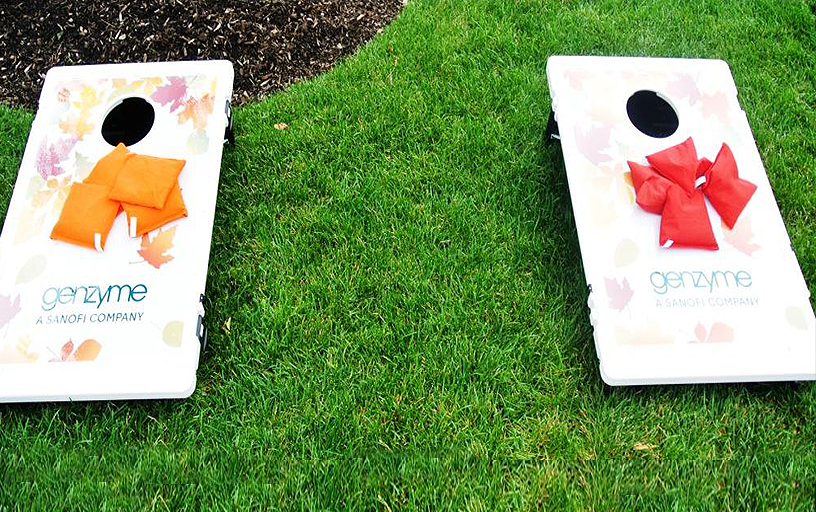 Branded Corn Hole / Pair