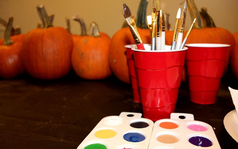 Pumpkin Painting/100 Pumpkins