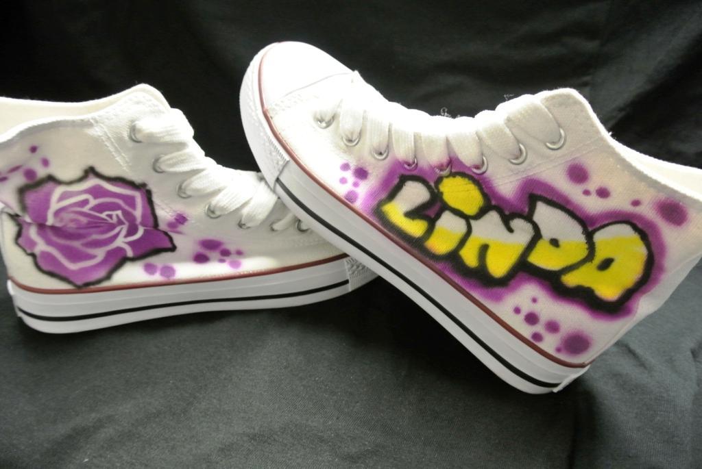 Airbrush Sneakers