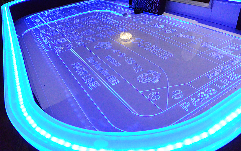 Glow Craps (Table Only)