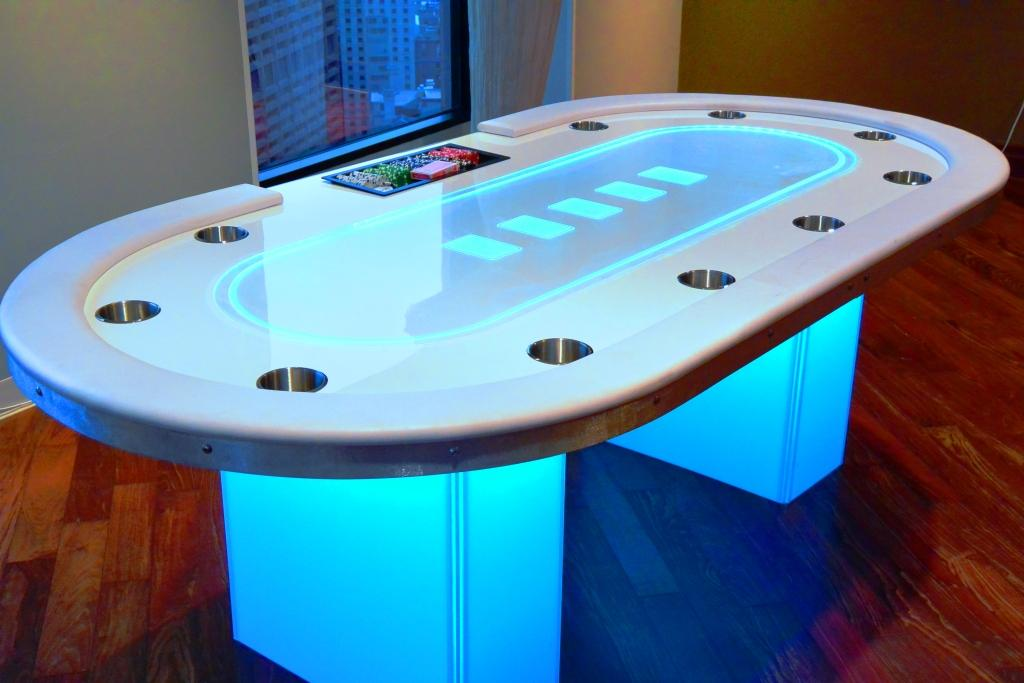 Glow Texas Hold Em (Table Only)