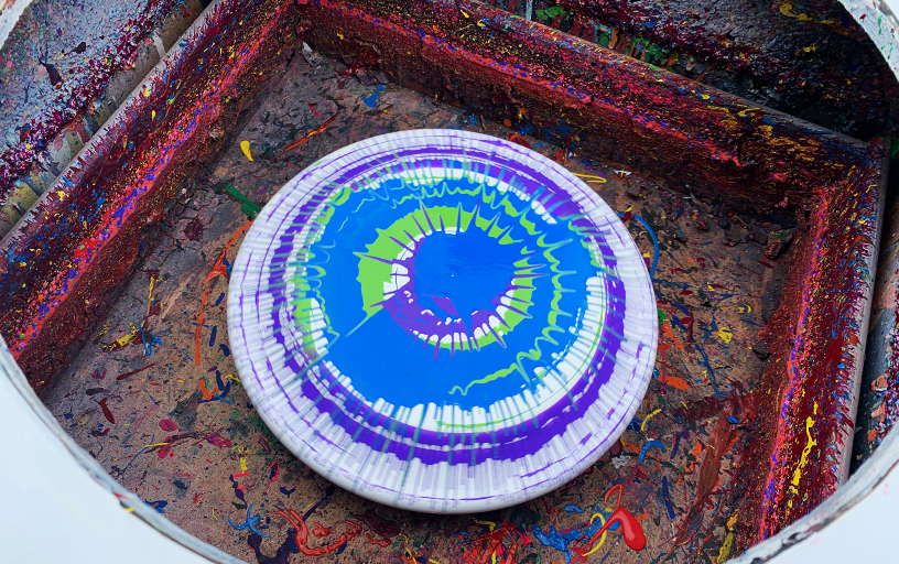 Spin Art Frisbees  (200 Pieces)