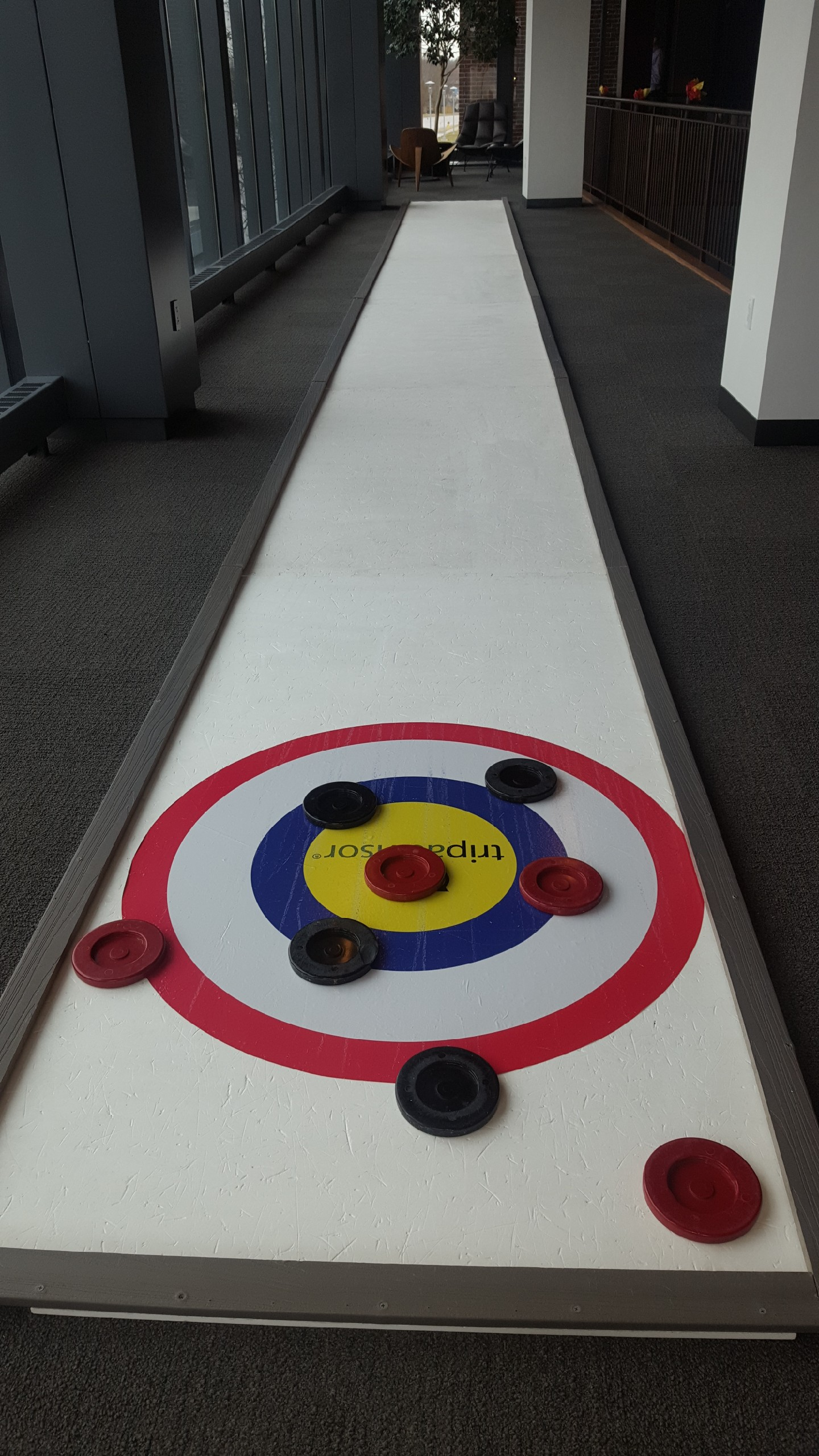 Synthetic Curling Lane (pair)