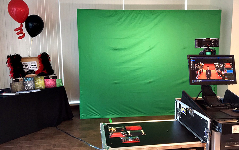 Green Screen Photos with Props