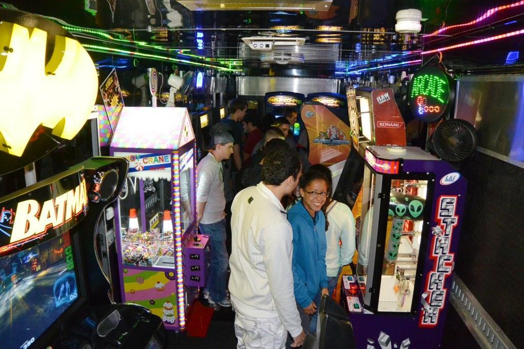 Mobile Arcade Trailer
