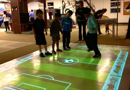 Virtual Game Floor