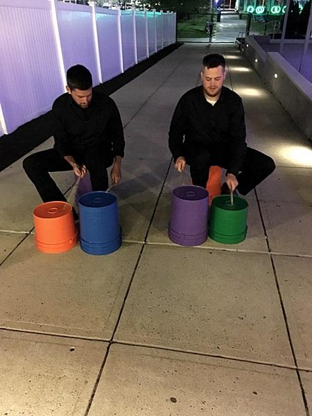 Bucket Dummer & Tapper Duo