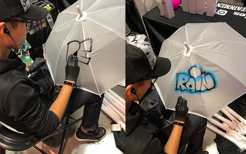 Airbrush Umbrellas