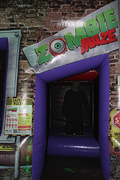 Haunted Zombie Maze