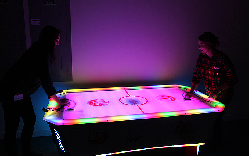 LED Air Hockey