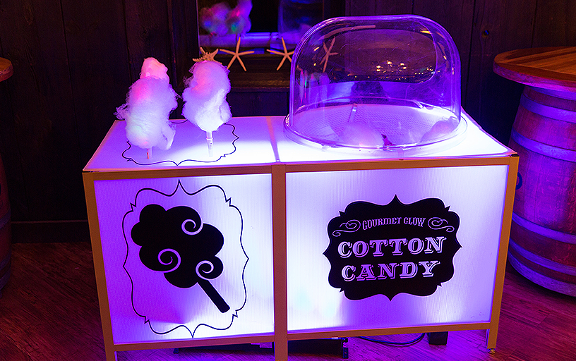 Glow Cotton Candy