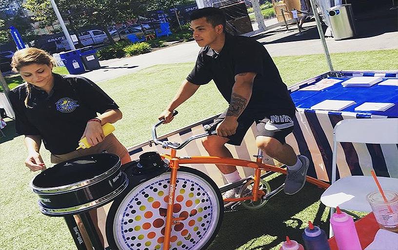 Spin Art Bike