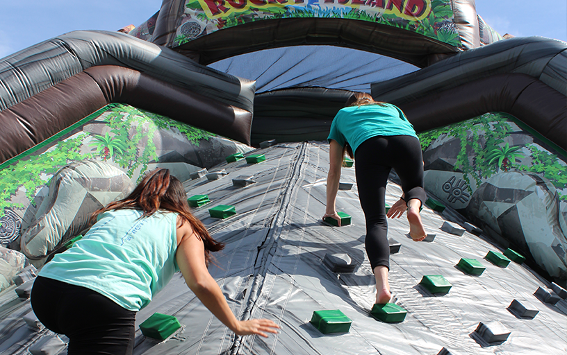 Rocky Island Obstacle Course